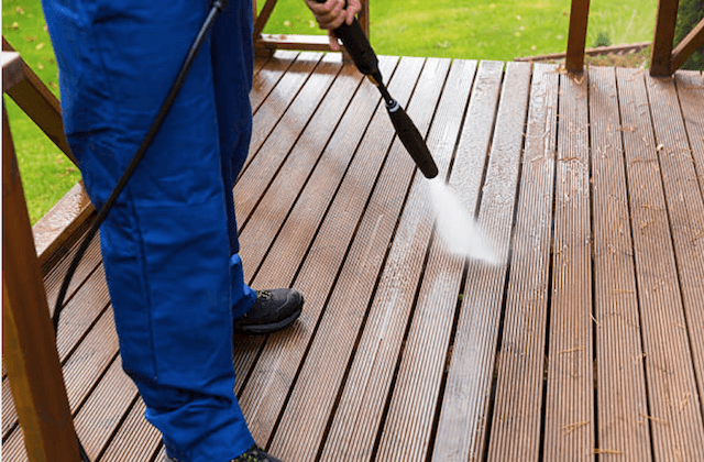 deck cleaning kansas city